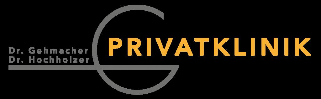 Logo Privatklinik Dr. Gehmacher transparent